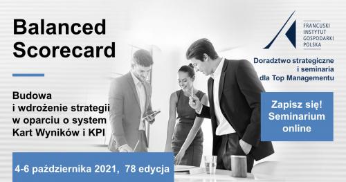 Balanced Scorecard. Wdrożenie strategii w oparciu o system Kart Wyników i KPI