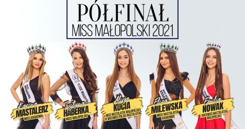 WIRTUALNY BILET - półfinał Miss Małopolski 2021