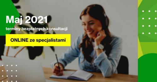 Darmowe Konsultacje Maj - Dąbrowski Inkubator Przedsiębiorczości