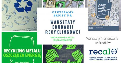 Warsztaty edukacji recyklingowej