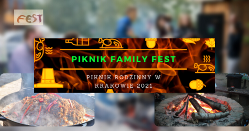 Piknik rodzinny w Krakowie - Family Picnic 13.06.2021