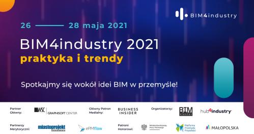 BIM4industry 2021 - Rejestracja: pokoje dyskusyjne