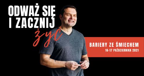 Bariery ze Śmiechem w Warszawie 16-17.10.2021