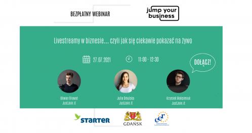 Jump Your Business: Livestreamy w biznesie… czyli jak się ciekawie pokazać na żywo