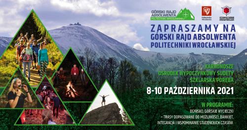 Górski Rajd Absolwenta Politechniki Wrocławskiej 2021