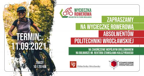 Wycieczka Rowerowa Absolwentów Politechniki Wrocławskiej 2021