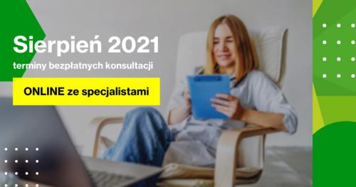 Darmowe Konsultacje Sierpień - Dąbrowski Inkubator Przedsiębiorczości