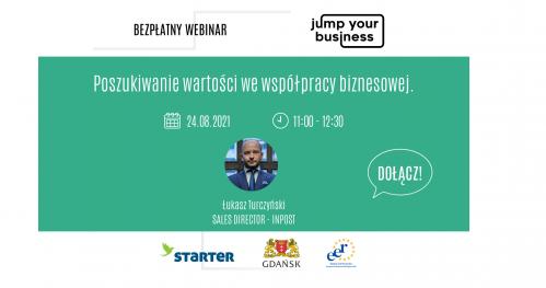 Jump Your Business: Poszukiwanie wartości we współpracy biznesowej.