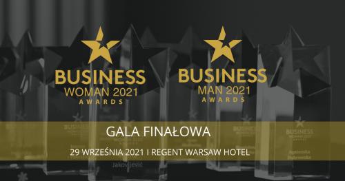 Gala BusinessWoman & BusinessMan Awards 2021 ⭐