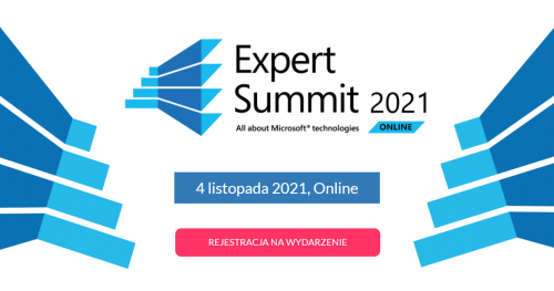 EXPERT SUMMIT 2021 - All about Microsoft technologies (online)