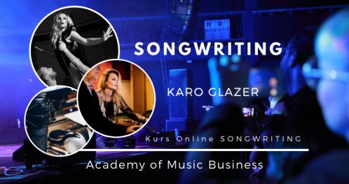 Praktyczne warsztaty dla Songwriterów z KARO GLAZER