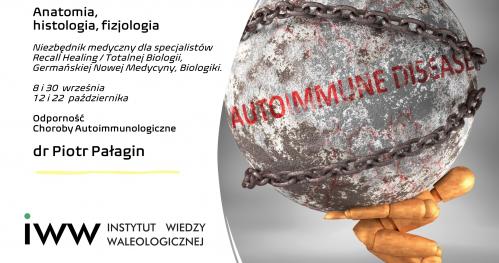 Odporność - Autoimmunologia - Anatomia, histologia, fizjologia, dr Piotr Pałagin