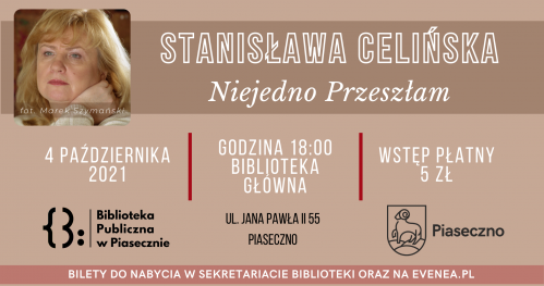 Spotkanie autorskie ze Stanisławą Celińską