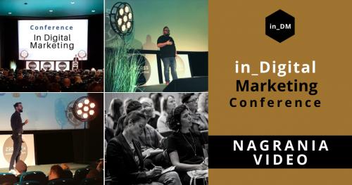 In Digital Marketing Conference 27-29.01.2021 - nagrania VIDEO.