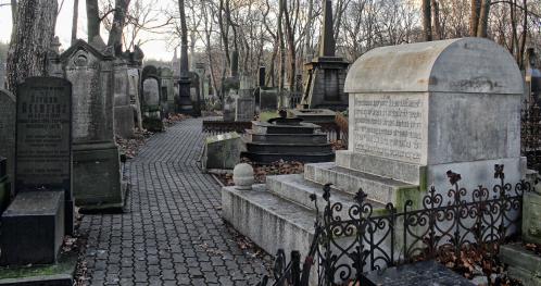 """17.10.2021 (niedziela) - 13:00 - """"Moje miasto murem podzielone""""- spacer po Cmentarzu Żydowskim. [Spacer]"""