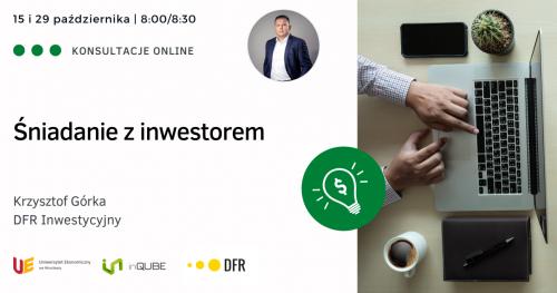 Śniadanie z inwestorem - konsultacje indywidualne online