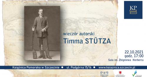 Wieczór autorski Timma Stütza