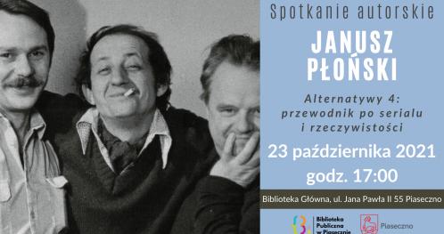 Janusz Płoński - spotkanie autorskie
