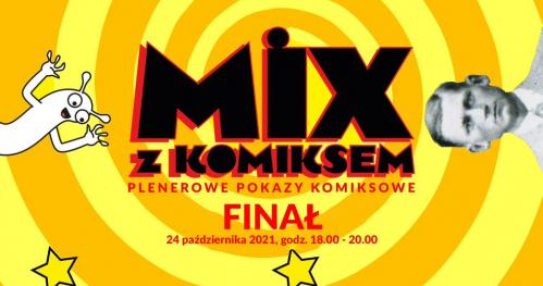 """MIX Z KOMIKSEM: film """"W Centrum Komiksu"""" + premiera komiksu """"Babcia Zdzisia na tropie"""""""