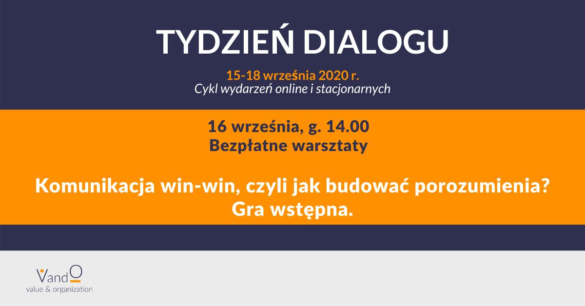 Warsztaty online - Komunikacja win-win - VandO