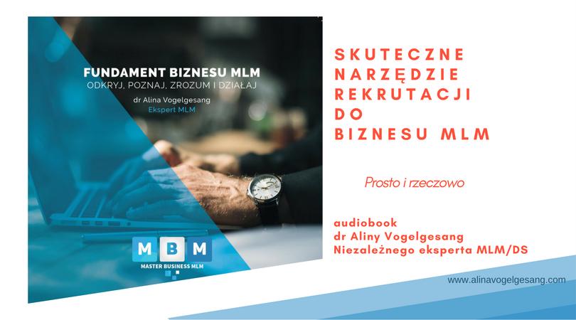 audiobook skuteczna rekrutacja MLM