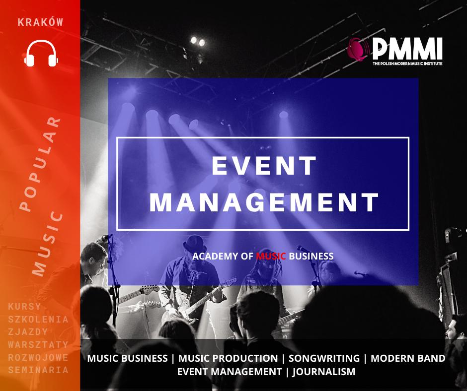 Warsztaty menedżerskie dla muzyków - Jak zarządzać imprezą?