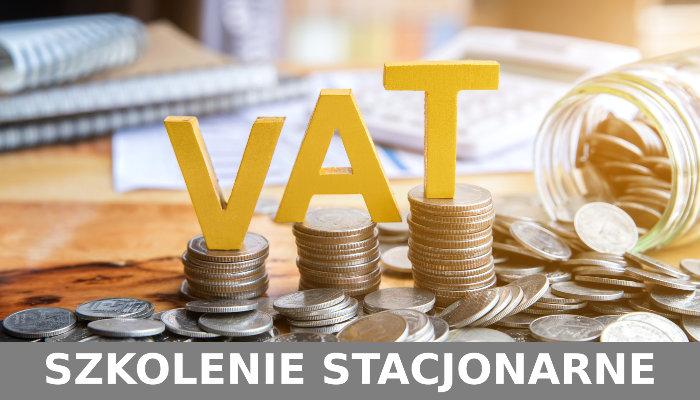 Podatek VAT - Szkolenie stacjonarne (tradycyjne). Polbi - Warszawa.