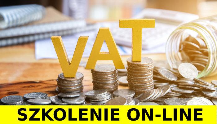 Podatek VAT - Szkolenie online. Webinarium, Polbi.